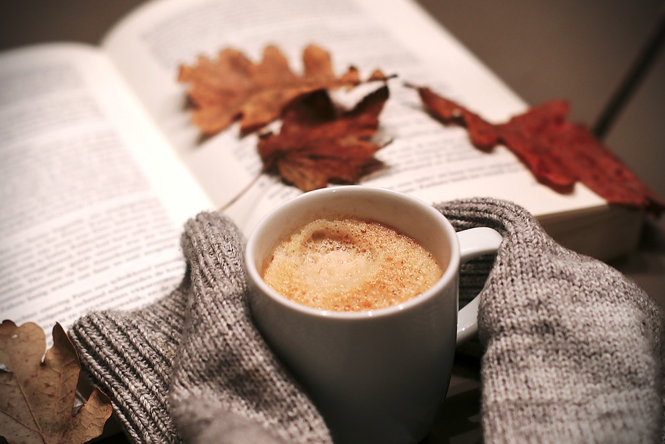 Kaffeestube im November